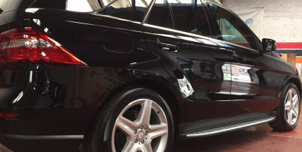 Mercedes ML - Super detail